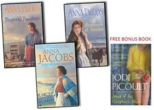 ANNA JACOBS __ MICHAELS FAMILY 3 BOOK SET __ PLUS FREE BOOK HUMPBACK WHALE