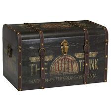 Household Essentials 9243-1 Large Vintage Decorative Storage Trunk