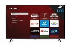 "TCL 43"" Class 4-Series 4K UHD HDR Roku Smart TV 43S425-CA"