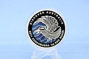 Australien 1 $ 2011 Discover  Australia Kookaburra 1 oz Silber *PP/Proof*