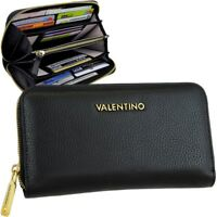 VALENTINO Damen Leder Brieftasche Geldbörse Portemonnaie Geldbeutel Geldtasche