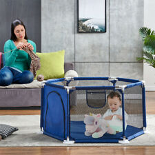 Children Playpen Fence Nets Playing Area Play Yards Baby Kids Tent 0-6 Year New