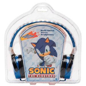 Sonic The Hedgehog, Jazwares, 65425 Multi-Device Stereo Headphones