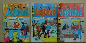 Lot of 3 - Jughead #206, #224 & #227 - 1972 / 1974 Archie Comics - Gd/VG (3.0)