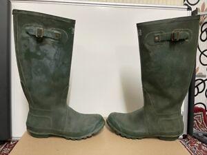 hunter mens wellington boots size uk 8 eu 42