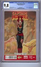Captain Marvel #14 CGC 9.8  1st appearance of Kamala khan