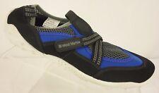 WEST MARINE Blue Black Fabric Mesh Hook & Loop Closure Water Shoes Men's SZ 5