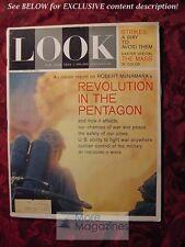 LOOK Magazine April 23 1963 JOHNNY CARSON SOPHIA LOREN VINCENT PRICE BLONDES