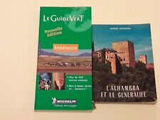 LOT GUIDES ANDALOUSIE + ALHAMBRA + PARIS POSTER GUIDE