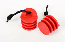 Ocean Kayak Scupper Stopper Large Red 2 Pack New