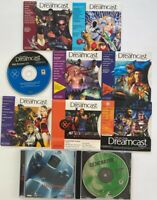 Lot of 8 Official Sega Dreamcast Magazine Demo Disc vol 2 3 4 5 6 7 8 9 10 Extra