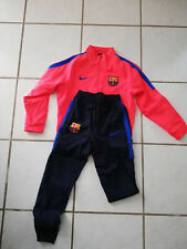 Survêtement Foot FC Barcelone NIKE Officiel 8/10 ans