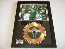 BLACK SABBATH  SIGNED  GOLD CD  DISC  2