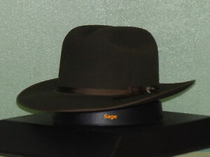 STETSON ROYAL DELUXE OPEN ROAD CLASSIC RANCHER STYLE WESTERN HATm