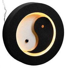 Wandleuchte - Lampe - Yin und Yang - schwarz - ca 35 cm