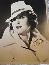 Margaret Callahan autograph B&W 8 x 10 PHOTO
