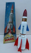 Nomura Space Rocket Mars 3 à piles 35Cm superbe Etat + Boite Japan 1969