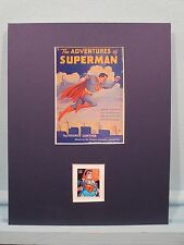 DC Comics - The Adventures of Superman Novel honored by the Superman Stamp