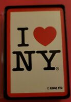 I Love New York Playing Cards Full Deck With Plastic Case
