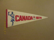 Canada Viintage 1976 Olympics Torch Runner Logo Pennant