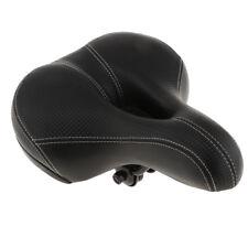 Sella per bicicletta con sedile ammortizzato in pelle ammortizzata a doppia