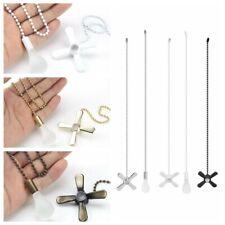 Ceiling Fan Pull Chain Cord Beaded Ball Light Pull Chain 12 Inch Fan Pulls Set