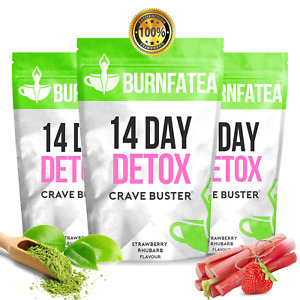 Berry Rhubarb TEATOX - 14 DAY CRAVE BUSTER DETOX TEA, WEIGHT LOSS, SLIMMING DIET