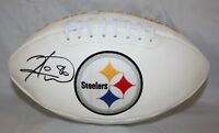 Hines Ward Autographed Pittsburgh Steelers Logo Football- JSA W Authenticated *L