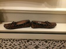 """CLARKS:FAB ANIMAL PRINT LOAFER/DRIVING STYLE SHOES - UK 4.5D - """"DUNBAR CRUISER"""""""