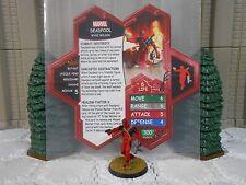 Heroscape Custom Deadpool Double Sided Card & Figure w/ Sleeve Marvel