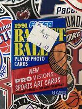 1991 Fleer Basketball NBA Card Packs 1 x Sealed Packet, Jordan?