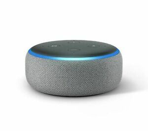 AMAZON Echo Dot (2018) - Heather Grey - Currys
