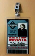 Batman ID Badge- Arkham  Correctional Inmate The Joker  cosplay prop costume