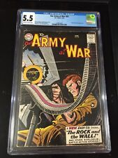 Our Army at War 83 Cgc 5.5 1st app Sgt Rock