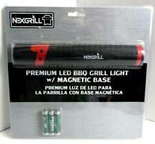 Nexgrill Premium LED BBQ Grill Light Magnetic Base NEW w/ Batteries Cookout