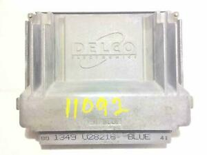 1999-2000 Pontiac Grand Prix Engine Control Module Computer ECM PCM ECU 09361735