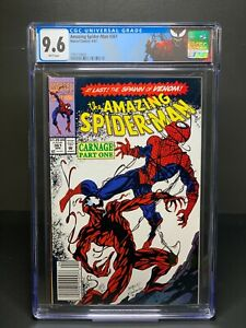 CGC 9.6 Amazing Spider-Man #361 First Appearance Of Carnage Spiderman Newsstand