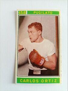Sticker #458 :Ortiz- CAMPIONI DELLO SPORT 1967-68 - Panini (Italy) - MINT