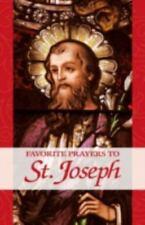 Favorite Prayers to St. Joseph (Large Print)
