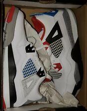 Jordan What The 4 Nib Size 2.5Y White Red Blue Black