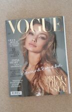 Vogue Special Edition - Signed by Edward Enninful - Vogue March 2018 GiGi Hadid