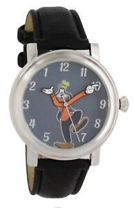 Disney Vintage Style Backward Ticking Watch Goofy Molded Hand Quartz Watch GY501