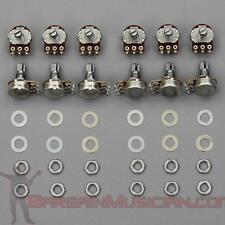 Lot of 12 B500K Volume / Tone Pots for Guitar / Bass, 16mm, Linear Potentiometer