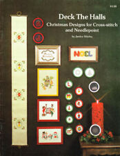 Craft Books: #1620 Deck the Halls Cross Stitch