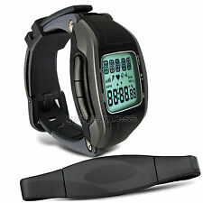 Heart Rate Monitor Wireless Chest Strap Watch Fitness Sport Calorie 240bpm UK