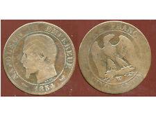 5 centimes NAPOLEON III 1854 W  ( 2 )