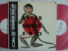 RED VINYL / YMO YELLOW MAGIC ORCHESTRA AFTER SERVICE / 2LP WITH OBI