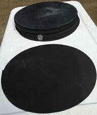 "EDPM/Neoprene Rubber Disc Gasket Material (9"" diameter x 3/32"" Thick)  1 Piece"