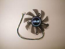 75mm Fan R128015SU(PLA08015S12HH) ASUS HD6850 HD7750 GTS450 550 Video Card USA