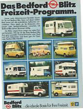 Opel BEDFORD - BLITZ   original alte Annoncen - Reklame - vintage adverts - Lot